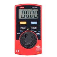 1pcs UT120C Portable Digital Multimeter Handheld Multimeter Auto Range Multitester Portable Voltmeter Tester Meter Ammeter Sale