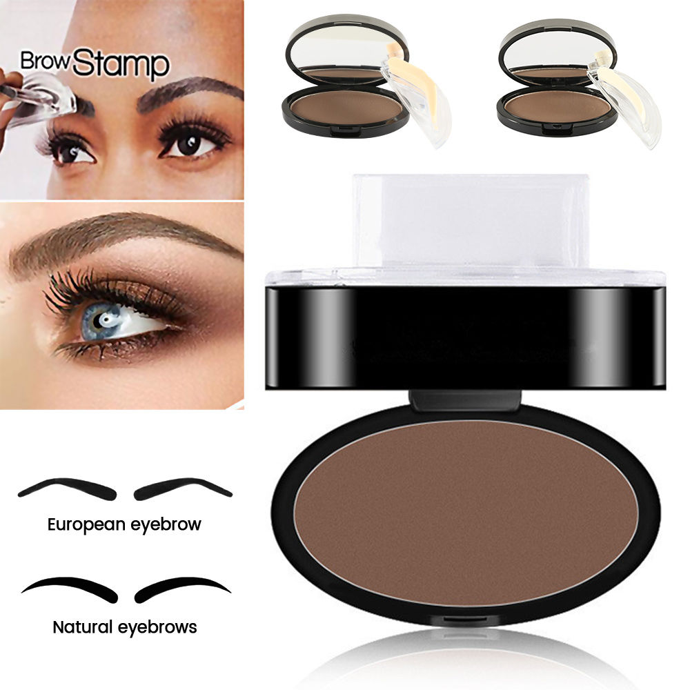 Back To Search Resultsbeauty & Health Lazy Quick Eyebrow Stamp Seal Tint Waterproof Long Lasting Eyes Brow Shadows Set Natural Shape Punch For Eyebrows Powder Palette