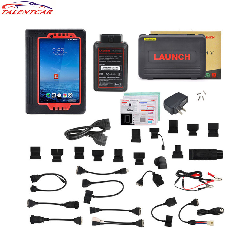 2017 Original Launch X431 V 8 inch Free Update Online X-431 V Pro 8inch Tablet X431 Pro WiFi/Bluetooth OBD2 Diagnostic Scan Tool