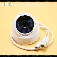 HKES 18pcs/lot 1MP CCTV Camera IP Camera Dome Network 720P IP Camera Surveillance Security Cam 3.6mm