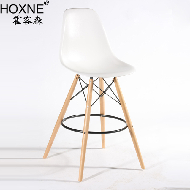 Huo Off Senyi Williams Barstool Tall Bar Chairs Eames Chair Single Chair  Lounge Chair Without Armrests