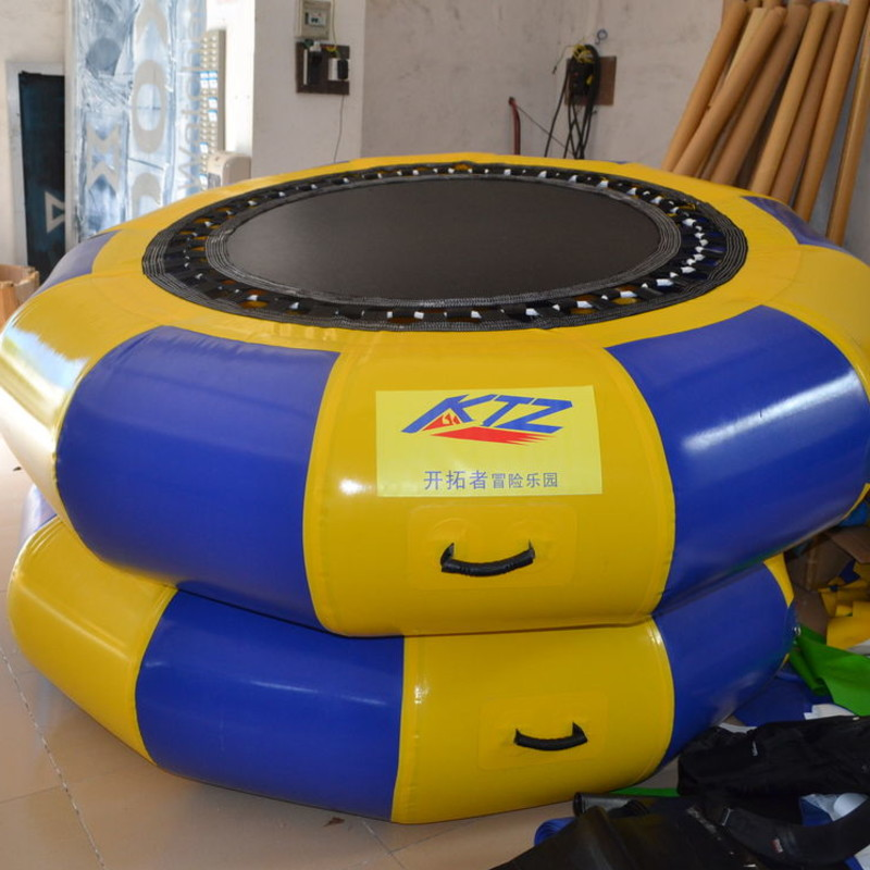 PVC Jumping Inflatable Water Trampoline Big Versatile for Water Park все цены