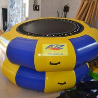 PVC Jumping Inflatable Water Trampoline Big Versatile for Water Park
