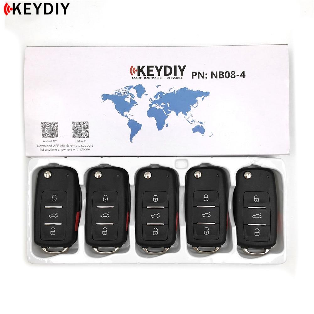 5pcs KEYDIY Original URG200 KD900 KD X2 Key Programmer NB08 3 4 Universal Multi functional KD
