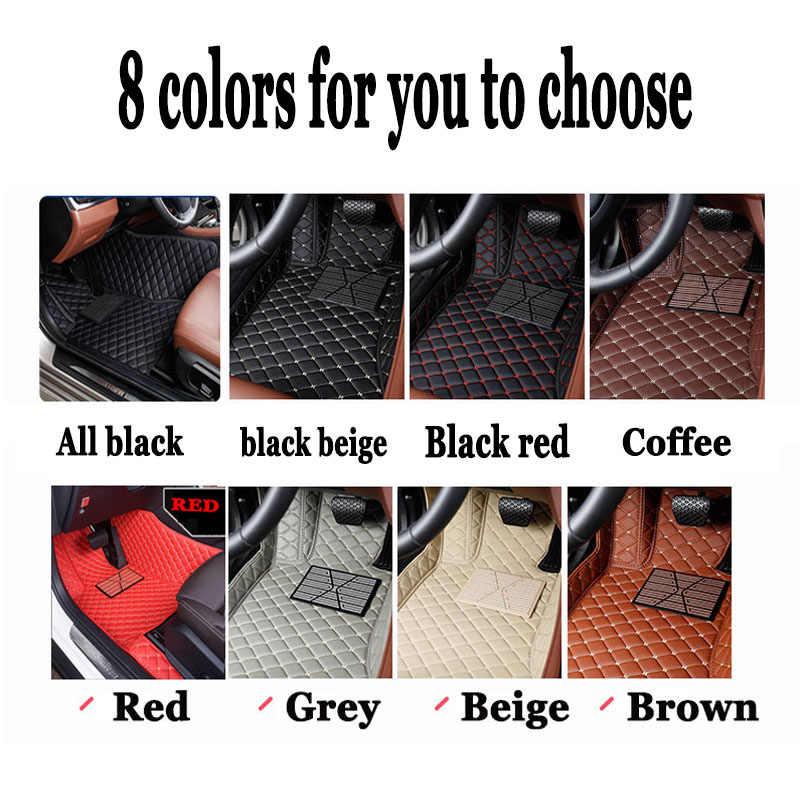 Especial Custom fit esteiras do assoalho do carro da movimentação da mão direita para Volkswagen CC Eos Golf Jetta Passat Tiguan Touareg sharan tapete forros
