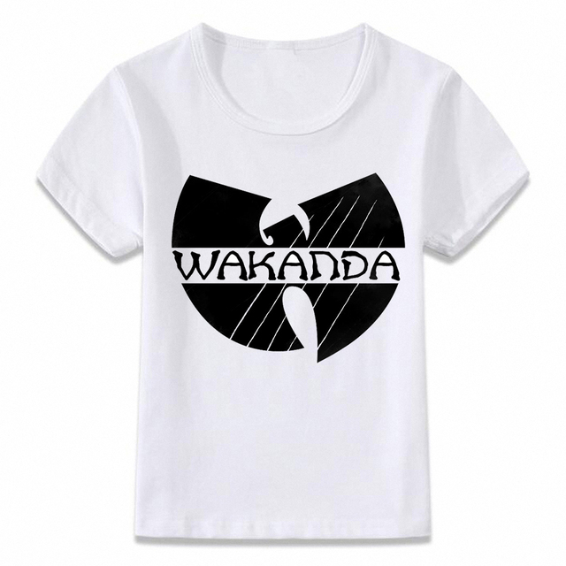 7ae6515c Kids Clothes T Shirt Wakanda Forever Black Panther Children T-shirt for Boys  and Girls Toddler Shirts Tee