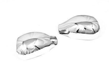 Couvercle de miroir chromé de haute qualité pour Peugeot 206 206CC livraison gratuite
