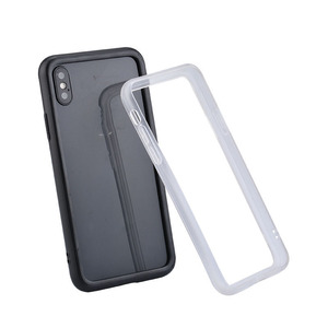 Image 2 - 실크 실리콘 범퍼 케이스 아이폰 6 6S 7 8 플러스 프로텍터 소프트 프레임 아이폰 X XR Xs Max shockproof Bumper Fundas Capa