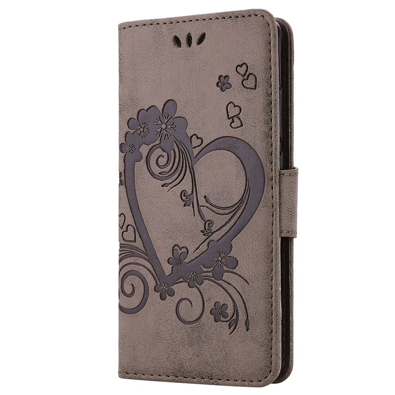 Grandever Flip Leather Case For Huawei P8 Lite Case For Wallet card hold Design Embossed Pattern Coque For Huawei P8 Lite Case