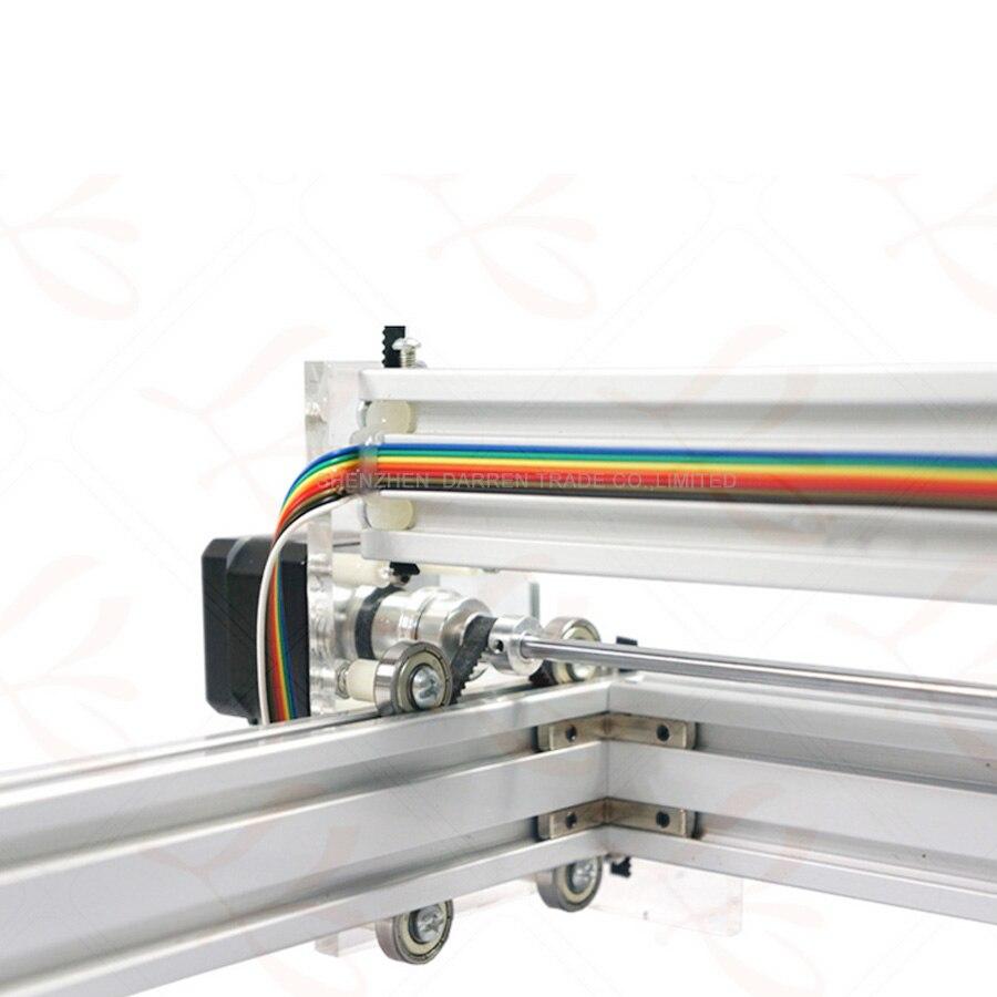 1 pièces 1.5 W bricolage mini laser gravure machine1500mW Bureau bricolage Graveur Laser Machine de Gravure Photo CNC Imprimante - 5