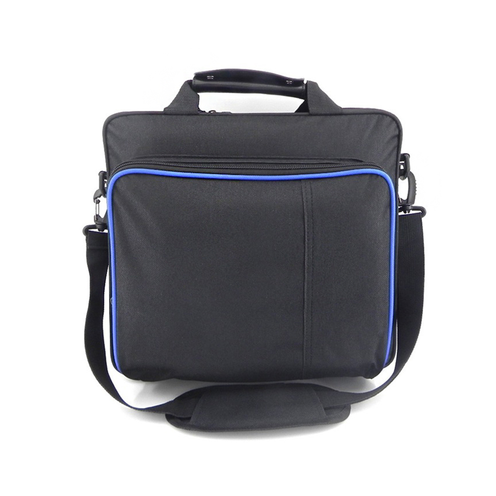 Game Console Storage Bag Shock Proof Waterproof Travel Handbag Shoulder Bag for PS4 Pro Console Accessories Carry Bag