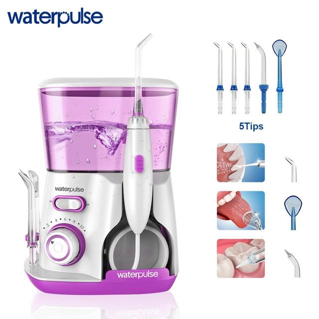 Waterpulse V300 hilo Dental Pro agua Flosser hilo 800 ml de higiene Oral agua Dental Oral de riego para cuidado de los dientes