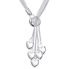 chain 925 silver Necklaces jewelery pendants c sales and free shippingYAQ166