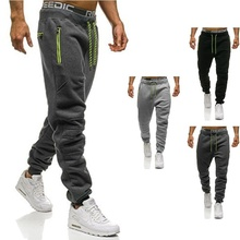 ZOGAA New Fitness Men Joggers Sweatpants Thin Gray Sportswear Jogger Pants Casual Gyms Bodybuilding Track  sweatpants