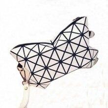 Marque de luxe Femmes Sacs À Cosmétiques De Mode Géométrie Style Petit Bao Bao Maquillage Sac Mignon Organisateur Femmes Sac maleta de maquiagem