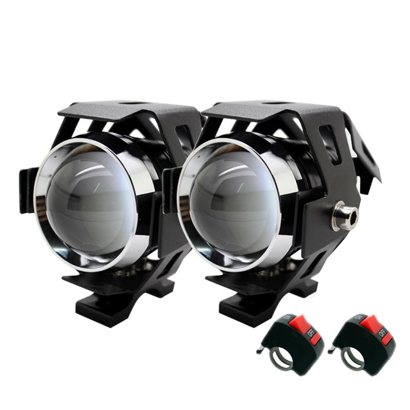 2 vnt. / Rinkinys SUNKIA U5 3 režimų 3000LM LED žibintai su - Automobilių žibintai