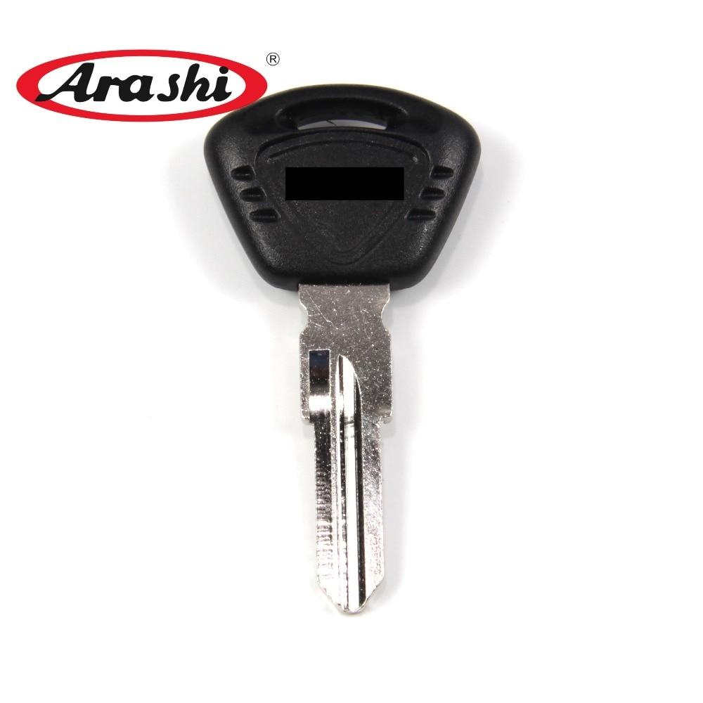 ARASHI Blade Blank Key For TRIUMPH Tiger 1050 Speed Triple 1050 Daytona 675 Street Tripl 675 32mm Motor Lock Accessories Uncut