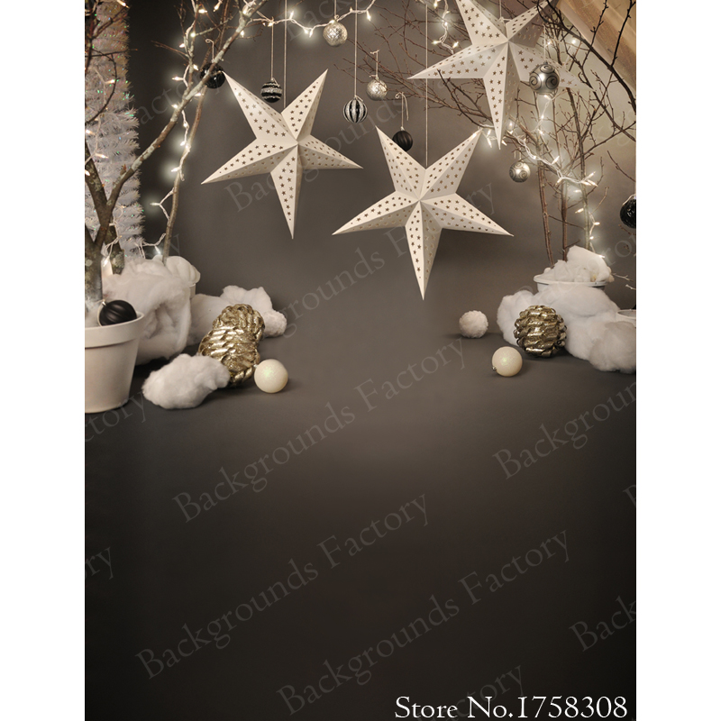 Seamless Vinyl Photography Background Christmas star Computer Printed Children Photography Backdrops for photo studio f-2212 1 1 5m vinyl photography background christmas computer printed custom photography backdrops for photo studio photo backgr