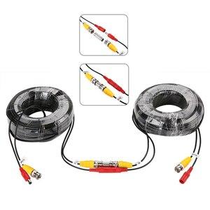 Image 5 - Тонтон BNC CCTV кабель (4 Packed 100 футов 30 м) видео кабель безопасности DC камера видеонаблюдения коаксиальный кабель видеонаблюдения DVR системы аксессуары
