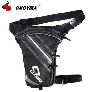 Image 1 - CUCYMA Motorcycle Bag Phone Case Purse Belt Male Waist Bags Motorcycle Leg Bag Outdoor Long distance Bag Leg CB 1603