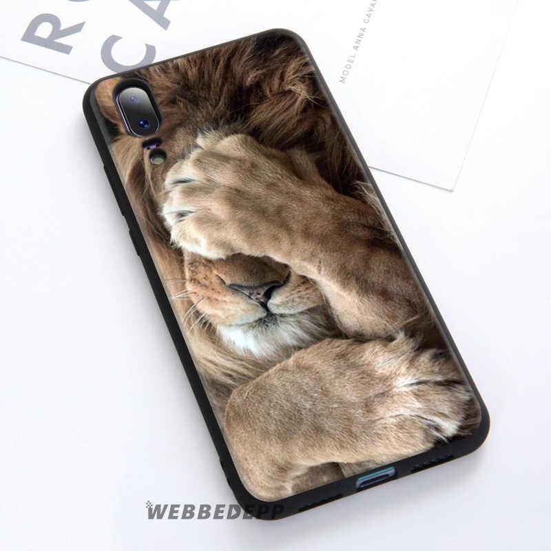 WEBBEDEPP Lion Alpha Male Cub Soft Case For Huawei P30 P20 Pro P10 P9 Lite 2017 P Smart 2019 & Nova 3 3i Y9 2019