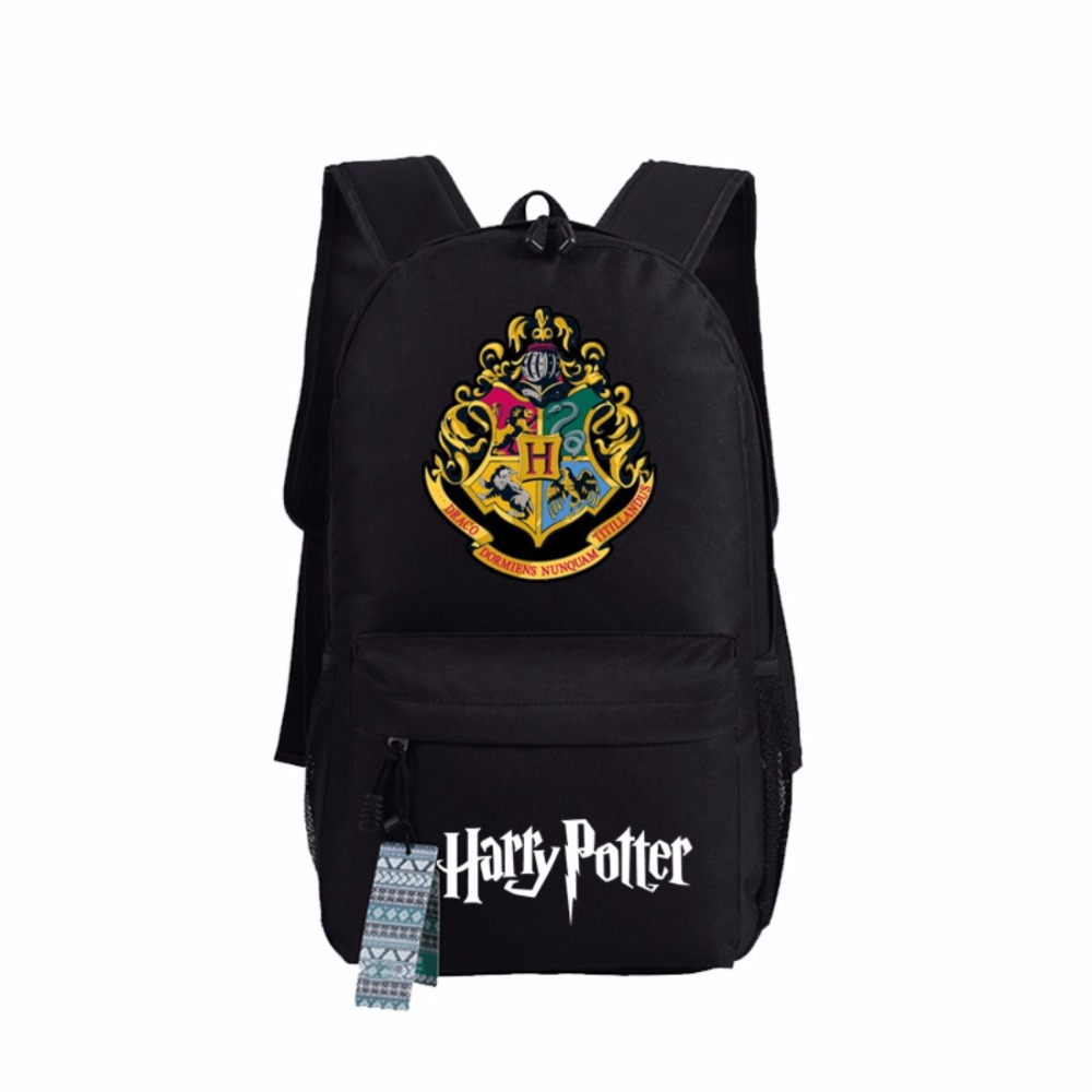 Wishot Harry Potter Hogwarts Backpack School Bags Book Children Bag Fashion Students Backpack Travel Bag For Teenagers #4