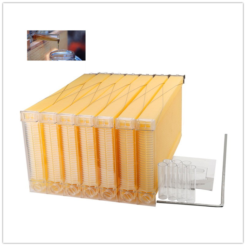 จัดส่งฟรี Auto น้ำผึ้ง outflow กรอบสำหรับเครื่องมือการเลี้ยงผึ้ง-ใน อุปกรณ์กำจัดแมลง จาก บ้านและสวน บน   1