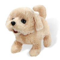 Cute Robot Dog Electronic Pet Dog Puppy Bark Stand Walk Interactive Dog Plush Teddy Toys Electronic Pets Kids Gift