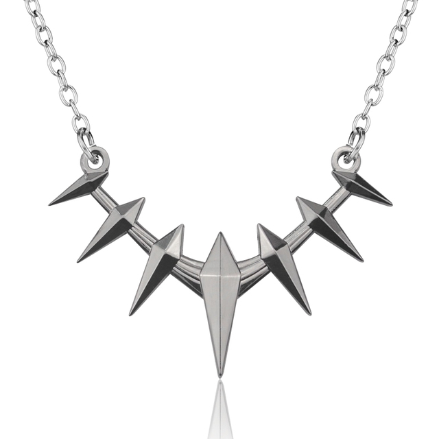 c33cf2e4ef82c Avengers Black Panther Necklace Wakanda King T'Challa Black Panther Cosplay  Necklace-in Pendant Necklaces from Jewelry & Accessories on Aliexpress.com  ...