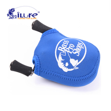 iLure Bait casting reel Bag Adjustable Tactical Pouch Holder for Fishing Reel Outdoor Sport Fishing Gear EquipmentSafety EVA