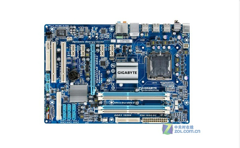 Gigabyte GA-EP43T-S3L original Motherboard EP43T-S3L DDR3 LGA 775 P43 Desktop motherboard Free shipping цена