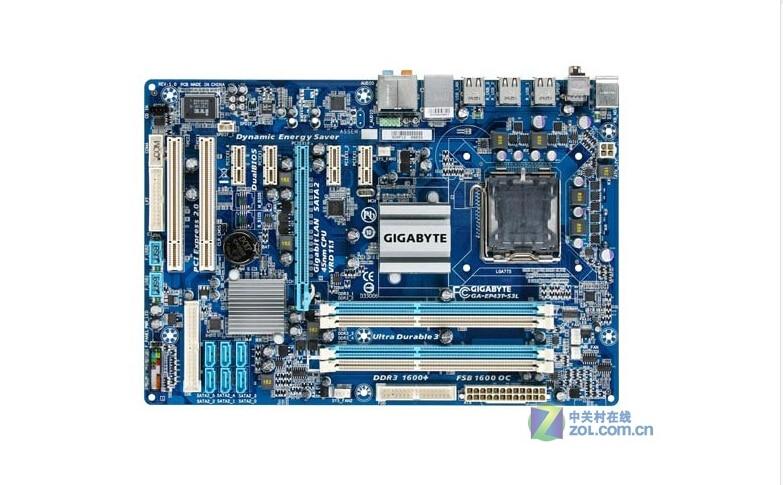 Gigabyte GA-EP43T-S3L original Motherboard EP43T-S3L DDR3 LGA 775 P43 Desktop motherboard Free shipping