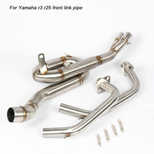 51mm Front Connecting Pipe Link stainless steel Silencer System for Yamaha R25 R3 2016 2017 2018
