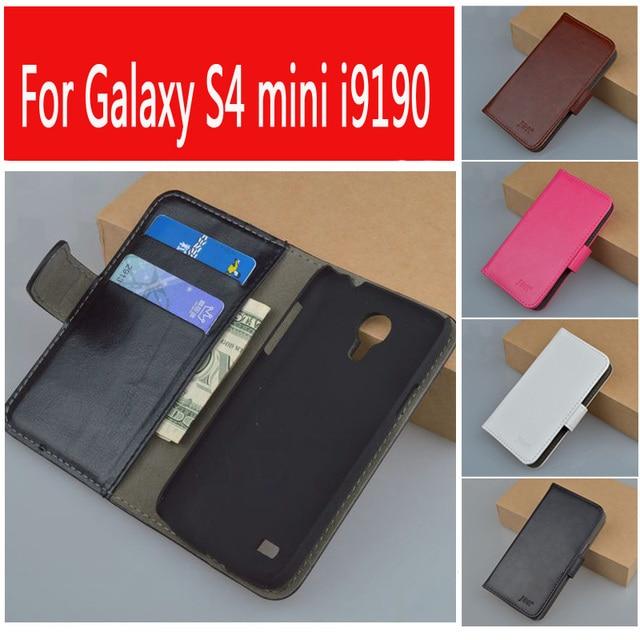 JR Flip Retro PU Leather Case For Samsung Galaxy S4 Mini I9190 I9192 I9195 GT-i9190 GT-i9192 GT-i9195 Duos GT-I9192I Cover
