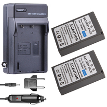 цена на 2x BLS-5 BLS5 2200mAh Battery+ Car Charger + EU Adapter for Olympus OM-D E-M10,Mark III,Mark II,PEN E-PL2,E-PL6,E-PM2, Stylus 1