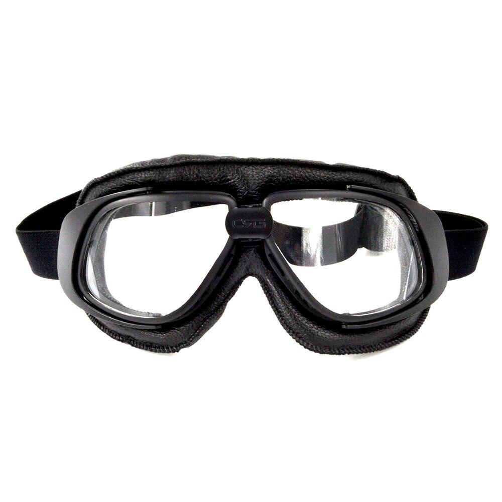 Bjglobal 2018 шлем очки мотоцикл Goggle Винтаж пилот байкер кожа очки Лыжный Спорт очки спортивные очки