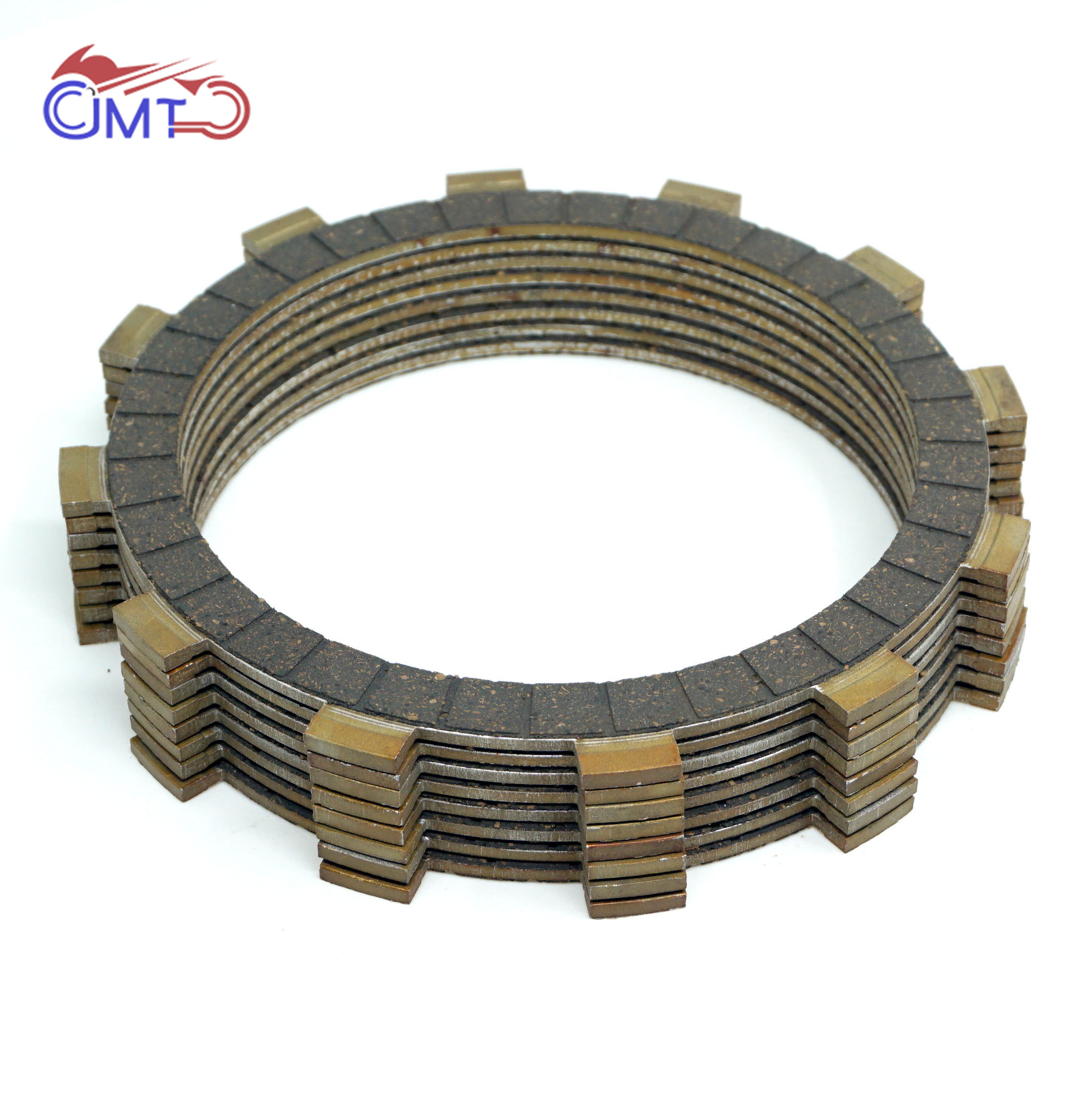 For Yamaha XJ700 XJ700X Maxim X 1985 1986 FZ750 Genesis 1985 XJ750 1983 XJ750R Seca 750 Clutch Friction Disc Plate Kit 8P SetFor Yamaha XJ700 XJ700X Maxim X 1985 1986 FZ750 Genesis 1985 XJ750 1983 XJ750R Seca 750 Clutch Friction Disc Plate Kit 8P Set