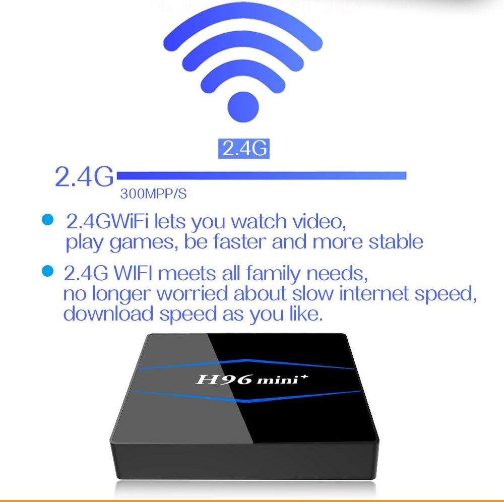 H96 mini Smart TV Box Android 8 1 RK3229 Quad Core 4 k android tv box 2  gb/16 gb Miracast DLNA WiFi LAN HD IPTV Media box PK X96