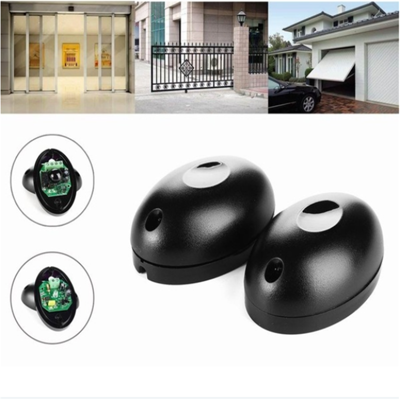 2pc/lot 12V To 24V Active Photoelectric Infrared Beam Sensor Barrier Detector For Gate Door Window Burglar Alarm System Dropship