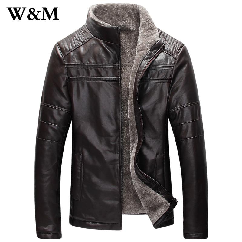 New Enam Winter Warm Mens Italian Genuine Leather Jacket Men Sheepskin Fur Coat Man Wool Shearling Men Leather Jackets And Coats In Faux Leather Coats From
