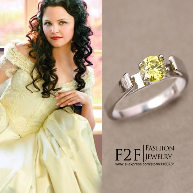 Replica Of Snow White S Green Engagement Ring From Once Upon A Time Mary Margaret 004jz