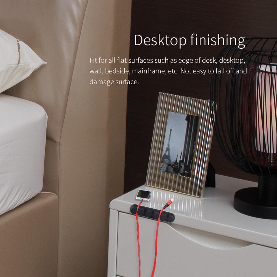 NTONPOWER Silicone Earphone Cable Organizer (8)