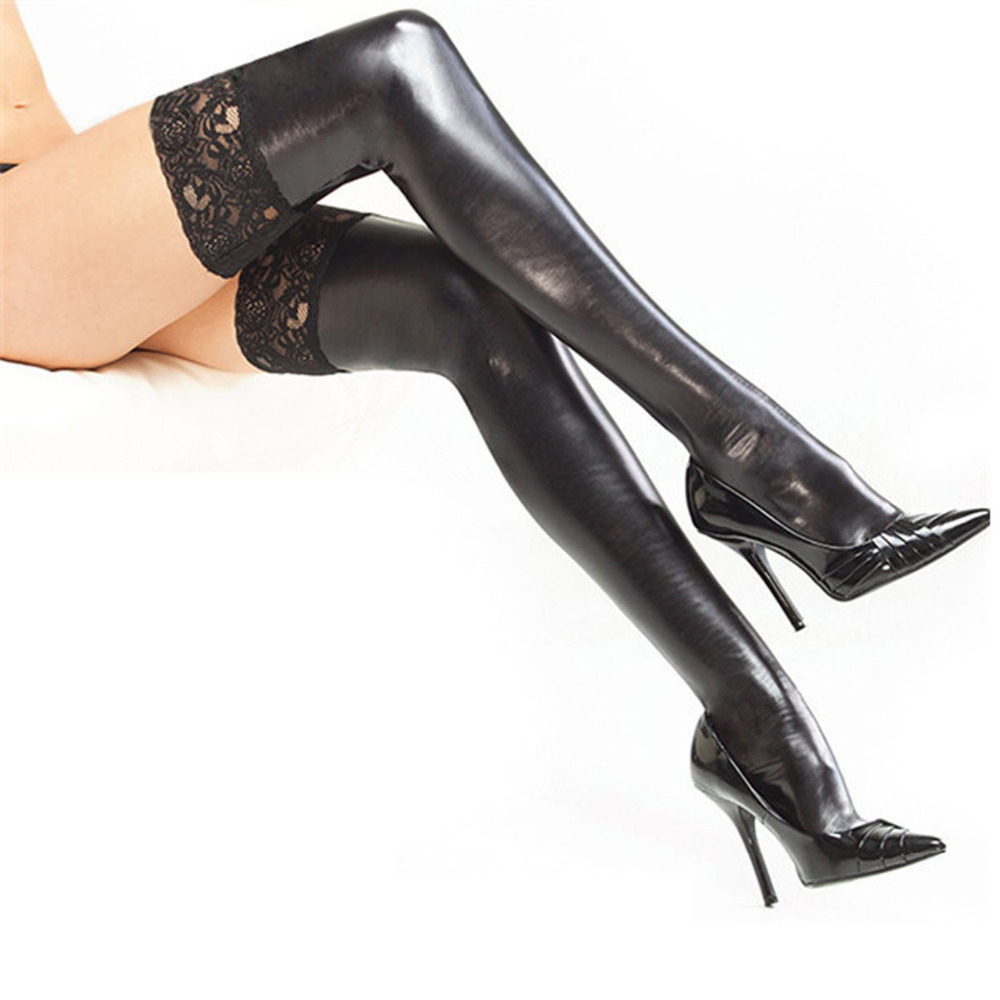 Fetish high stocking thigh — pic 13