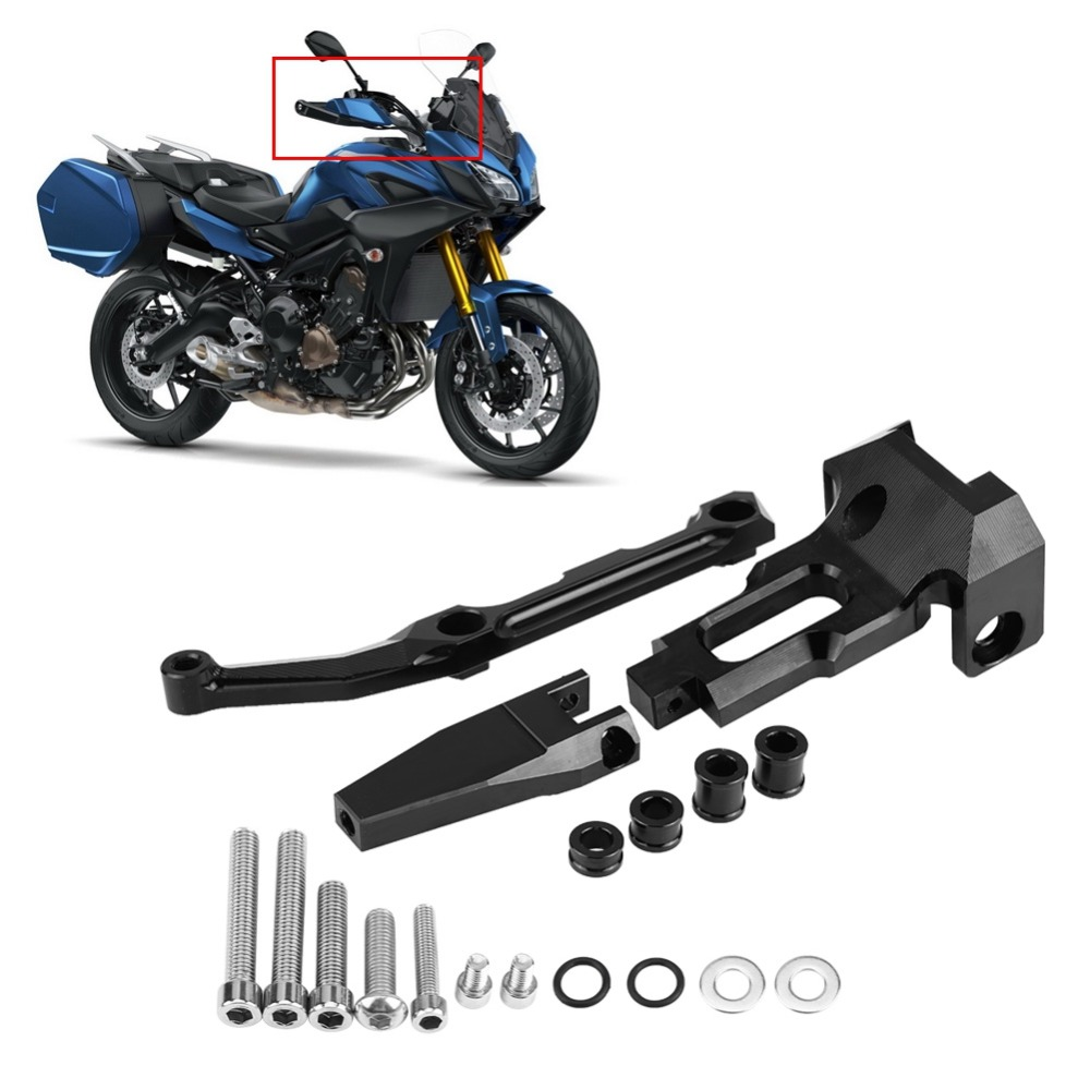 Motorcycle CNC Steering Damper Mounting Bracket Stabilizer Universal For Yamaha FJ-09/MT-09 Tracer/900 Tracer 2015 2016 2017