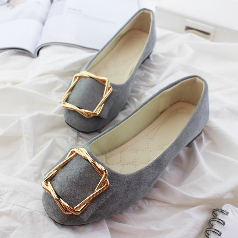 Big Size Women Flats Shallow Candy Color Shoes Woman Loafers Autumn Fashion Sweet Flat Casual Shoes Women Plus Size 35-42 5