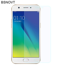 2PCS Glass For OPPO A57 Screen Protector Tempered Phone Front Film BSNOVT
