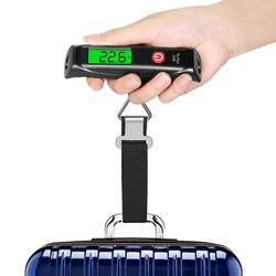 Электронные цифровые весы для багажа, ручной прибор для взвешивания багажа, для рыбалки, путешествий