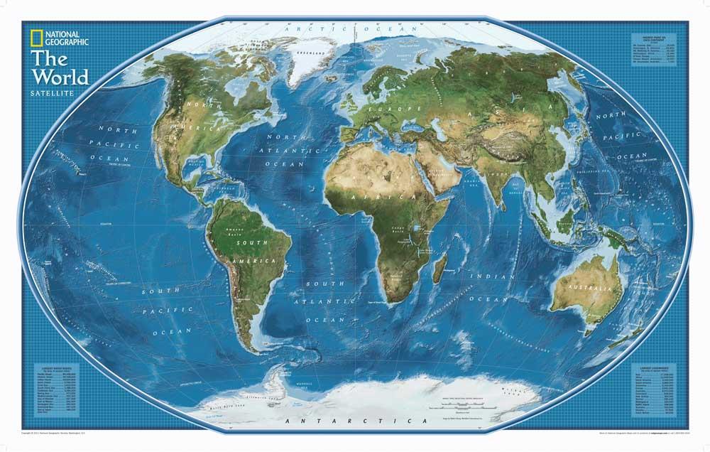 Retro Art Woonkamer : ✅hd national geographic wereldkaart canvas olieverf art print