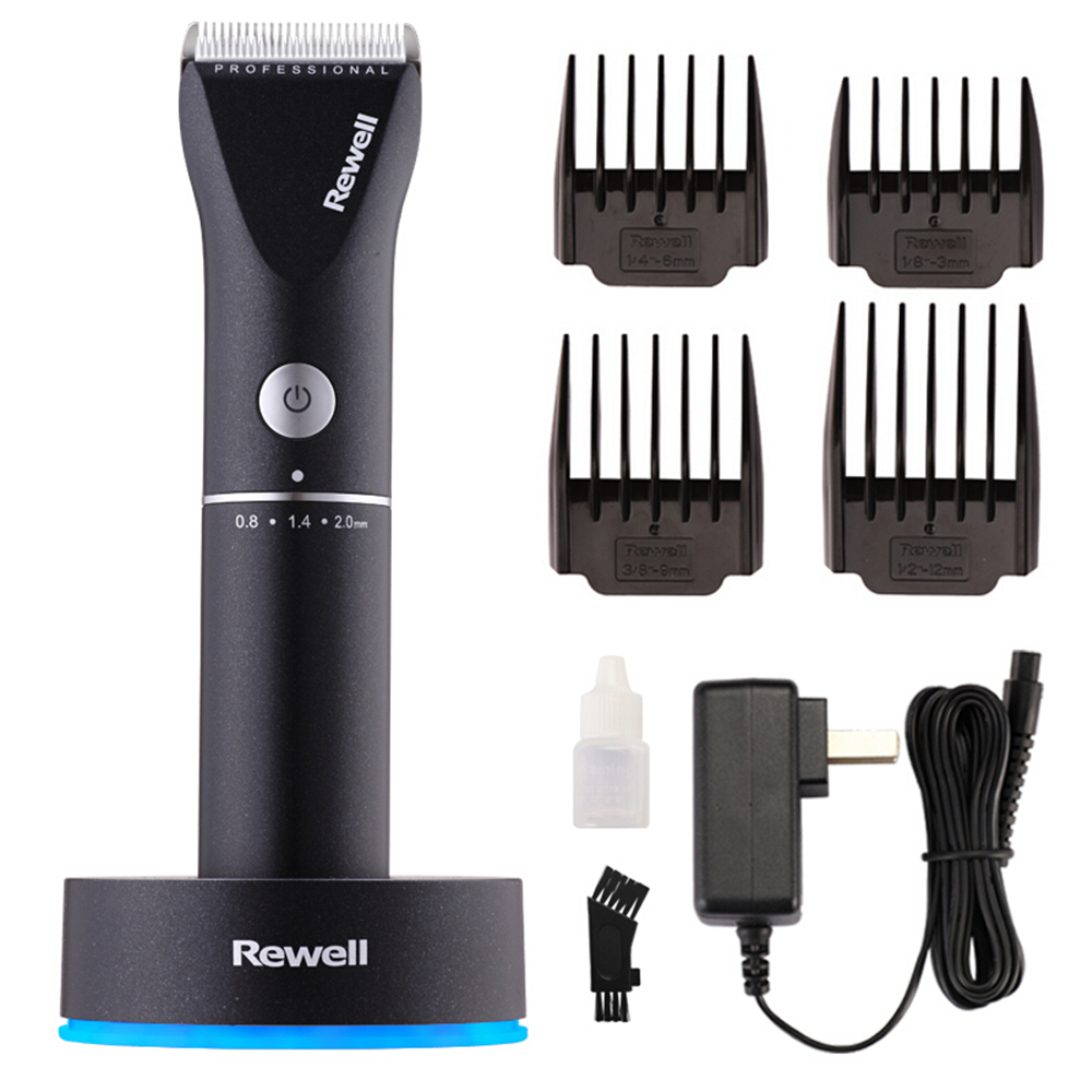 Professional Rechargeable Hair Clipper Hair Trimmer for Men Electric Cutter Ceramic Blade Hair Cutting Machine Haircut