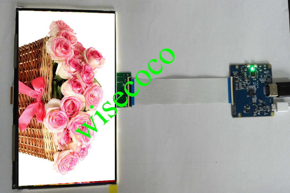 2560*1600 2k 1440p IPS 8.9 inch lcd display monitor with HDMI-MIPI for DIY 3d printer compatible Raspberry PI3 Free shipping